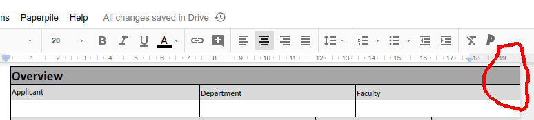 How To Fix Tables That Run Off The Page In Google Docs Dpod Blog
